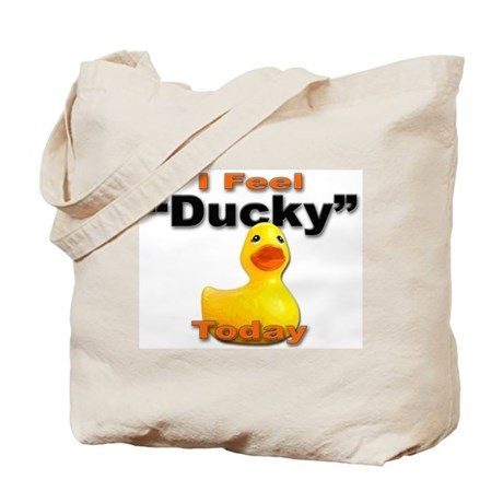 Rubber Ducky Today Tote Bag