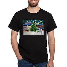 Xmas Magic & Bulldog T-Shirt