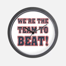 We're the Team to Beat Wall Clock