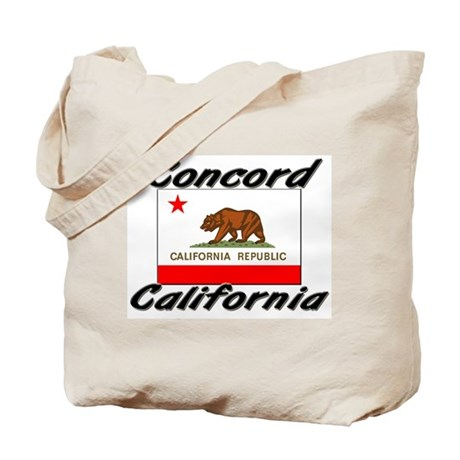 Concord California Tote Bag