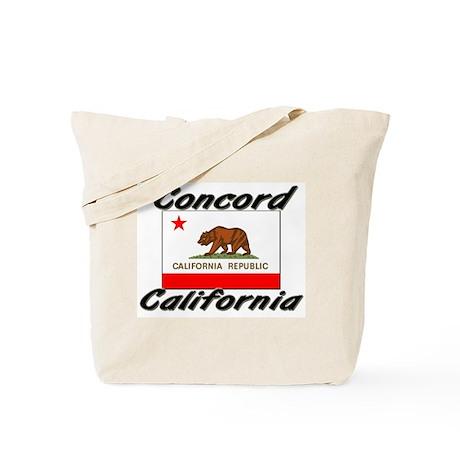 Concord California Tote Bag