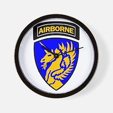 13th Army Airborne Wall Clock