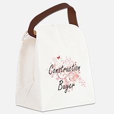 Construction Buyer Artistic Job D Canvas Lunch Bag