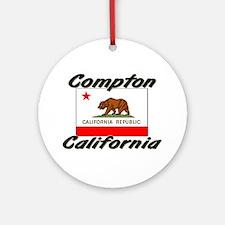 Compton California Ornament (Round)
