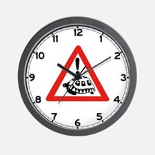 Caution Turtles, South Africa Wall Clock