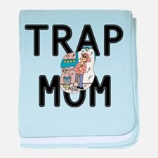 trap mom baby blanket