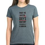 Greysanatomytv Women's Dark T-Shirt