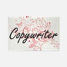 Copywriter Artistic Job Design with Butter Magnets