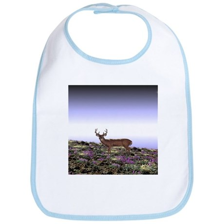 Deer Scene Bib