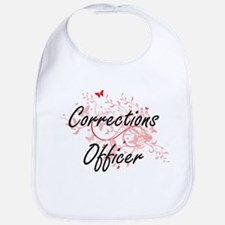 Corrections Officer Artistic Job Design with B Bib