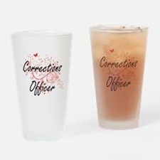 Corrections Officer Artistic Job De Drinking Glass