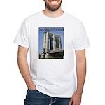 Brooklyn Bridge at Old Fulton White T-Shirt
