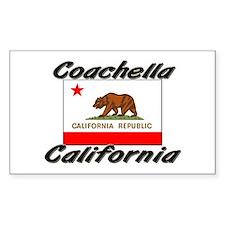 Coachella California Rectangle Decal