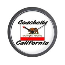 Coachella California Wall Clock
