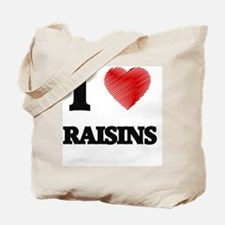 Unique California raisins Tote Bag