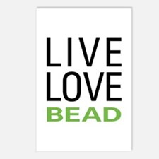 Live Love Bead Postcards (Package of 8)