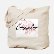 Counselor Artistic Job Design with Butter Tote Bag