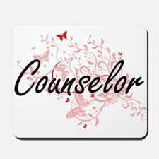 Counselor Artistic Job Design with Butte Mousepad