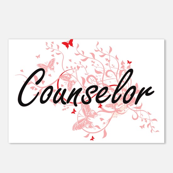 Counselor Artistic Job De Postcards (Package of 8)