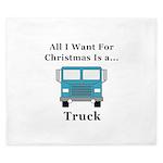 Christmas Truck King Duvet