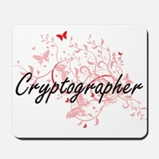 Cryptographer Artistic Job Design with B Mousepad