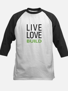 Live Love Build Tee