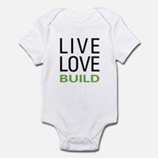 Live Love Build Infant Bodysuit