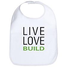 Live Love Build Bib