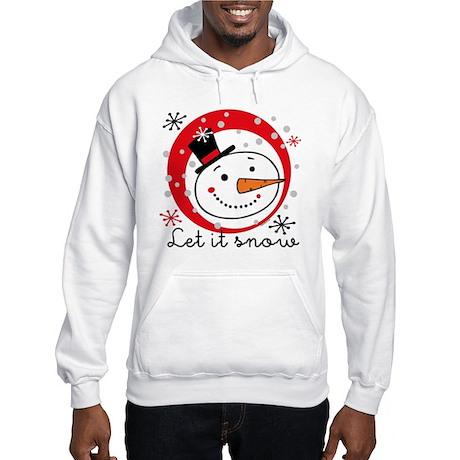 Let It Snowman Hooded Sweatshirt