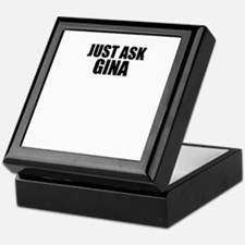 Just ask GINA Keepsake Box