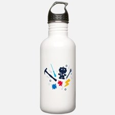Young Engineer - jeans Water Bottle