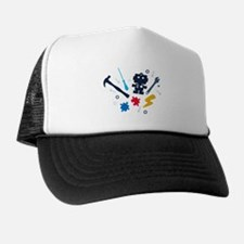 Young Engineer - jeans Trucker Hat