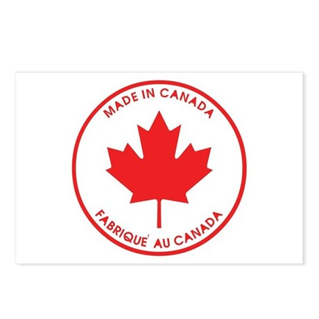 Made in Canada Postcards (Package of 8)