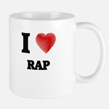 I Love Rap Mugs