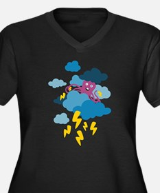 Who Makes the Thunder? Plus Size T-Shirt