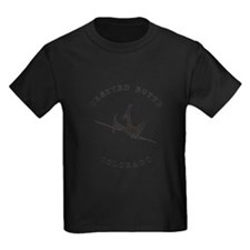 Crested Butte Colorado Funny Falling Skier T-Shirt