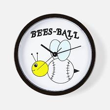 BEES-BALL Wall Clock