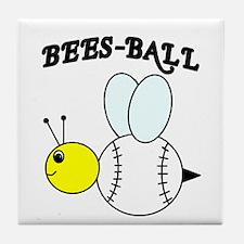 BEES-BALL Tile Coaster