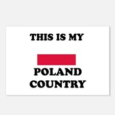 This Is My Poland Country Postcards (Package of 8)