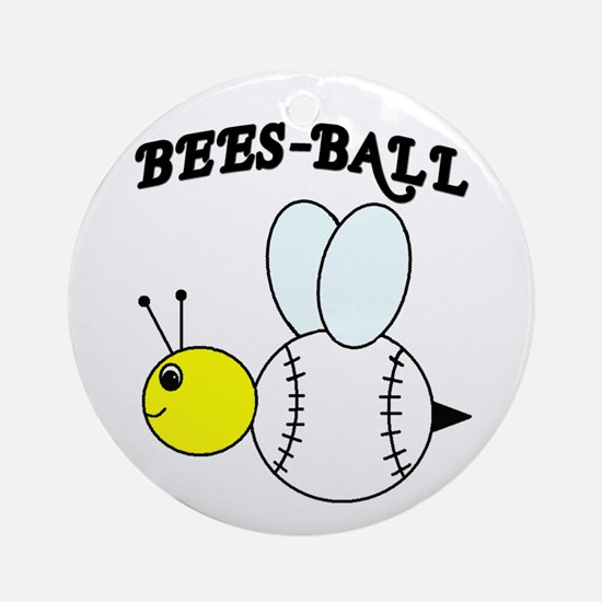 BEES-BALL Ornament (Round)