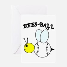 BEES-BALL Greeting Card