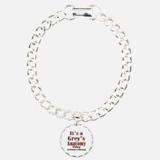Greysanatomytv Charm Bracelet, One Charm
