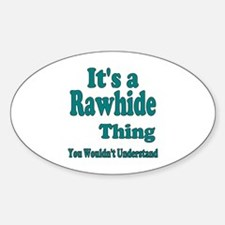 Cute Rawhidetv Decal