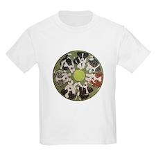 Border Collie Puppy Mandala T-Shirt