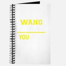 WANG thing, you wouldn't understand! Journal