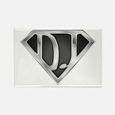 Super DJ(metal) Rectangle Magnet