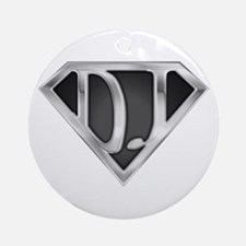 Super DJ(metal) Ornament (Round)