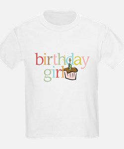 BDay Girl Cupcake - T-Shirt