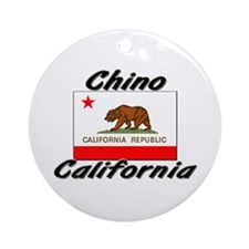 Chino California Ornament (Round)