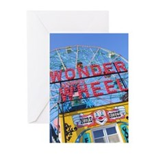 Coney Island Wonder Wheel Greeting Cards (Pk of 10